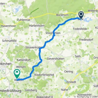 Segeberger Straße 23, Bark nach Steenkamp 22, Kisdorf