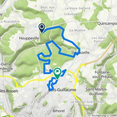 Itinéraire vers 72 Allée Gabriel Reuillard, Bois-Guillaume