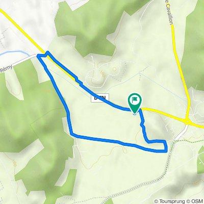 De Route de Plan d'Orgon 6037 à Route de Plan d'Orgon 6037