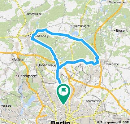 Pankow - Lehnitz - Bernau - Pankow