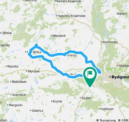 Bydgoszcz - Nakło - Łobżenica - Mrocza - Wojnowo