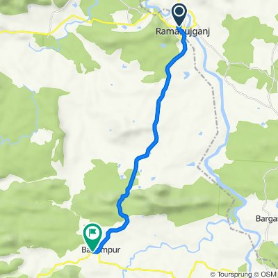 National Highway 343, Ramanujganj to Ramanuganj Road, Balrampur