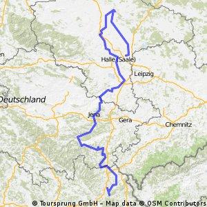 Saaletour 2011 (Münchberg-Hohenthurm)