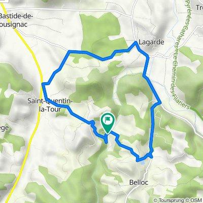 7 Queilles, Saint-Quentin-la-Tour to 7 Queilles, Saint-Quentin-la-Tour