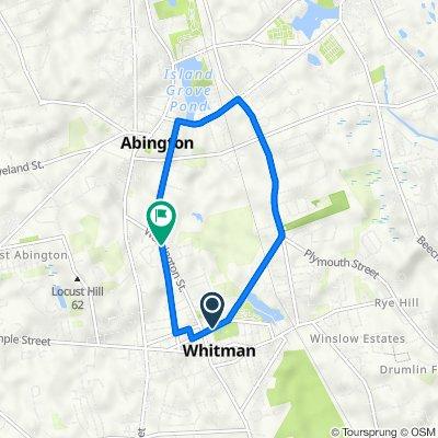 Whitman-Abington Route