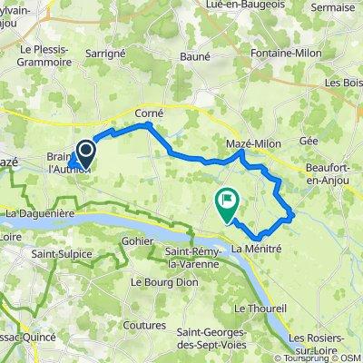 Itinéraire vers 24bis Rue Haute du Râteau, Saint-Mathurin-sur-Loire