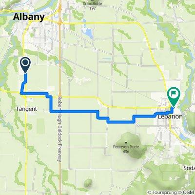 34468–34544 Pacific Blvd SW, Albany to 329 Wheeler St, Lebanon