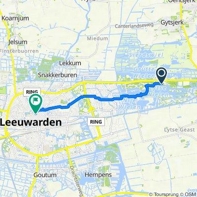 De Groene Ster, Leeuwarden naar Schoenmakersperk 1, Leeuwarden
