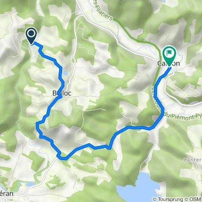 7 Queilles, Saint-Quentin-la-Tour to 89 Route de Leran, Camon
