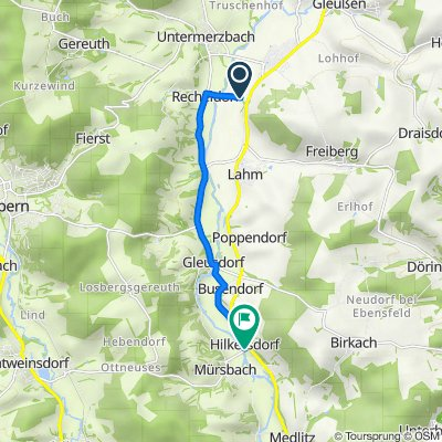 Recheldorf, Itzgrund nach Hilkersdorf 15, Rattelsdorf
