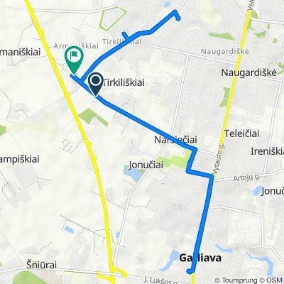 Kriaušių gatvė 1, Jonučiai to Liuksemburgo aklg. 48, Kaunas