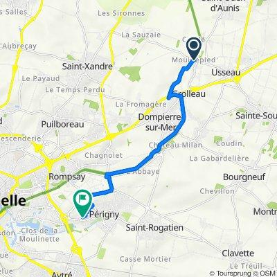 De 12 Route de Mouillepied, Dompierre-sur-Mer à 3 Square des Bleuets, Périgny