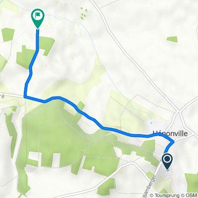 Itinéraire à partir de 3 Rue des Groseilliers, Hénonville