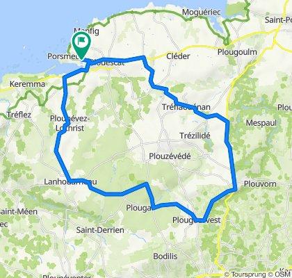Plouescat - 47 km