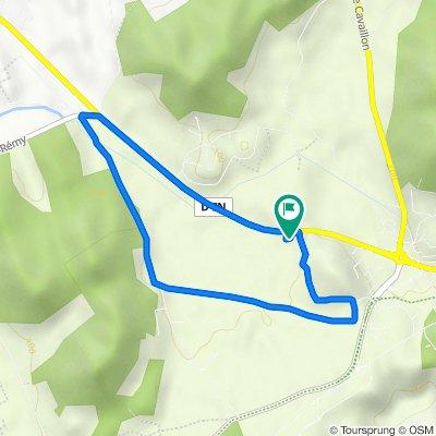 De Route de Plan d'Orgon 6037 a Route de Plan d'Orgon 6037