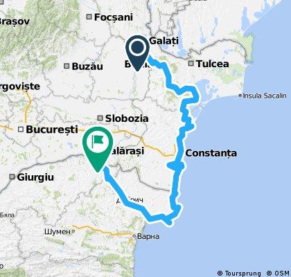600 kmTurul Dobrogei si al Cadrilaterului mai 2011