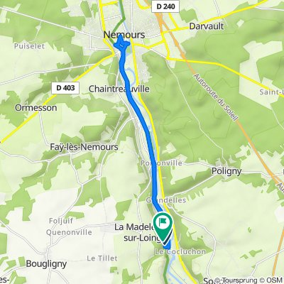 Souppes-sur-Loing Cycling