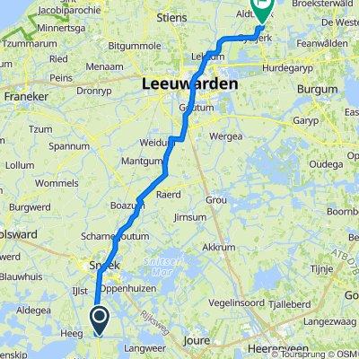 Lippenwâlde 4, Hommerts naar Van Haersmasingel 74, Oentsjerk