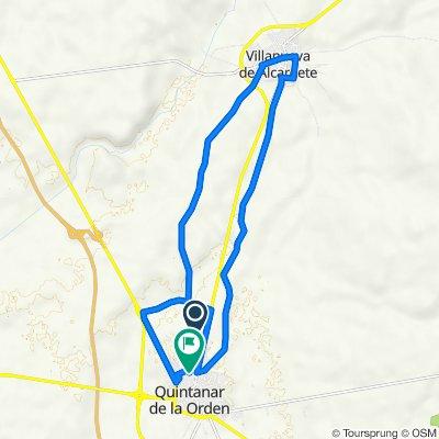 De Camino San Jorge 4, Quintanar de la Orden a Calle Padre Angulo Quilis 15, Quintanar de la Orden