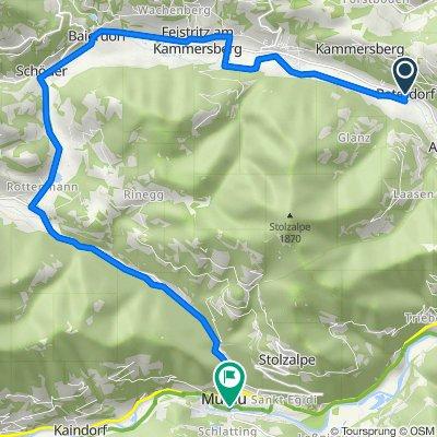 Peterdorf 49, Peterdorf nach Schillerplatz 2–8, Murau