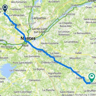 De 3 Chemin du Piloir, Vigneux-de-Bretagne à 14 Rue Aire Matte, Boussay