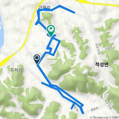 Jeokseong-myeon 1446-1, Paju-si to Jeokseong-myeon 1636, Paju-si