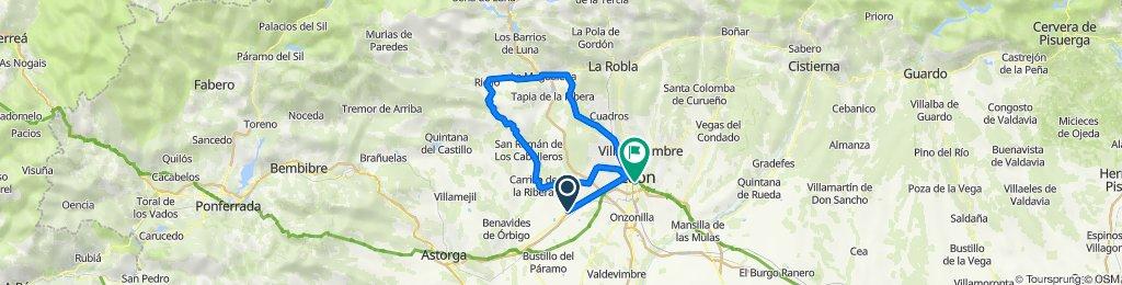 De Lugar Chozas Arriba 1005 a Av.Facultad. 45, León