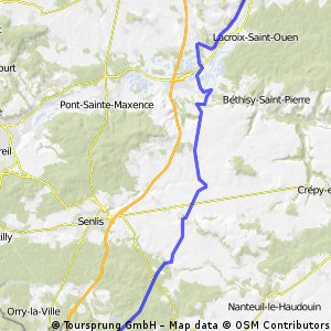 Compiegne to Survilliers