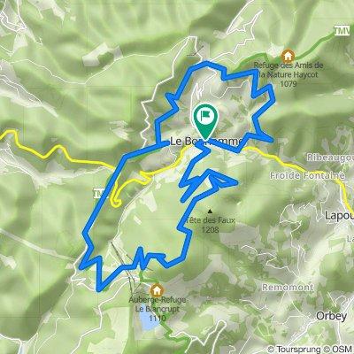 Voie Communale Vieille Route 1, Le Bonhomme nach Route des Bagenelles 2, Le Bonhomme