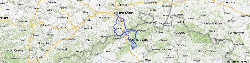Dresden - Böhmisches Mittelgebirge