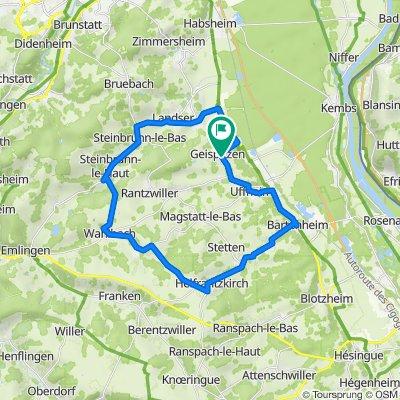 Geispitzen Helfrantzkirch Geispitzen 1