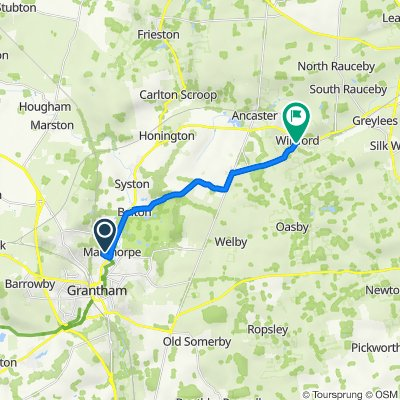 13–19 Rosedale Dr, Grantham to 7 School Lane, Grantham