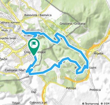 San Dorligo-Socerb-Val Rosandra
