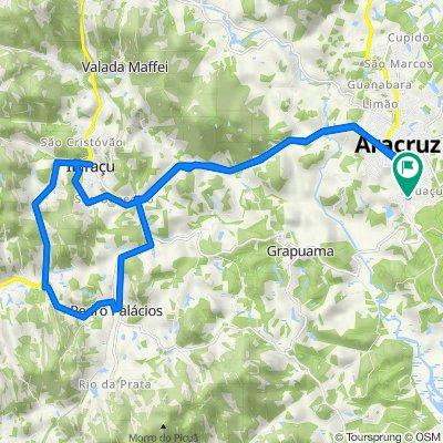 De Rua Vera Pimentel Amorim, Aracruz a Rua Vera Pimentel Amorim, Aracruz