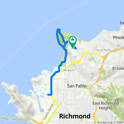 5021 Match Ct, Richmond to 5001 Par Ct, Richmond