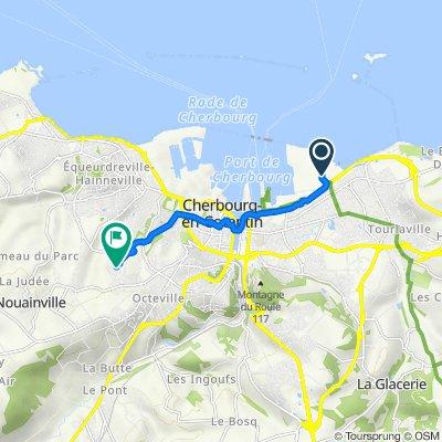 Itinéraire vers 75 Rue des Vindits, Cherbourg-en-Cotentin