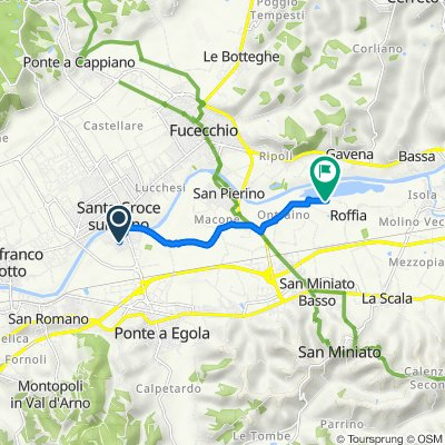 Da Via Gioacchino Rossini 10, San Donato a Via Ontraino, San Miniato