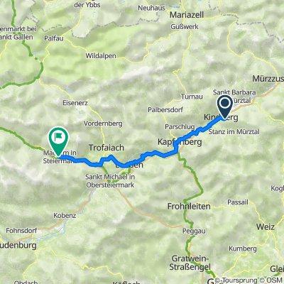 7 Kindberg - Mautern in der Steiermark
