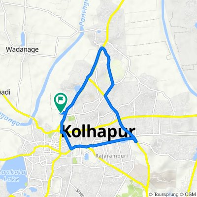 178/1/1A, Kolhapur to Unnamed Road, Kolhapur