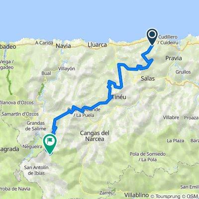 Comarca Vaqueira. 5000m en 156km