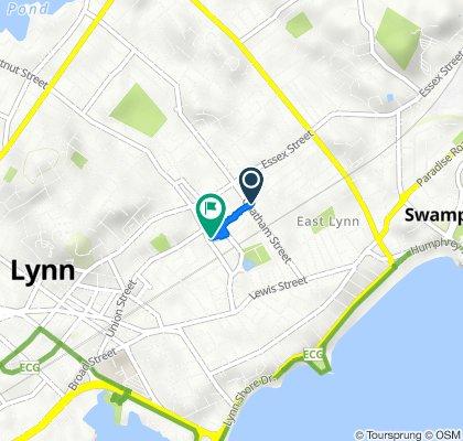 149 Timson St, Lynn to 19 Olive St, Lynn