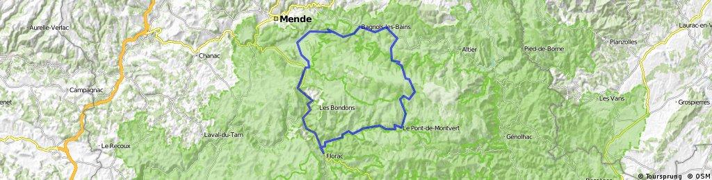 Tour du mont Lozère