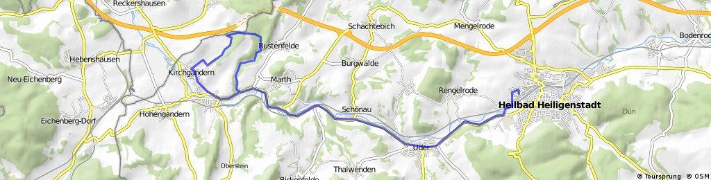 Heiligenstadt-Miwepa-AB-Tunnel A38-Kirchgandern-Heiligenstadt