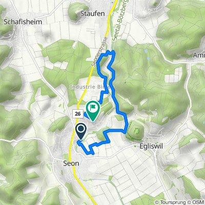 Aabachstrasse 10A, Seon nach Breitenrainweg 22, Seon