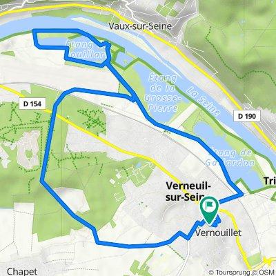 De 25 Avenue du Clos des Vignes, Vernouillet à 29 Avenue du Clos des Vignes, Vernouillet