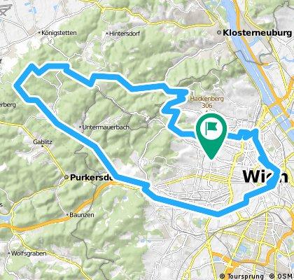 Wien - Winerwald - Wien