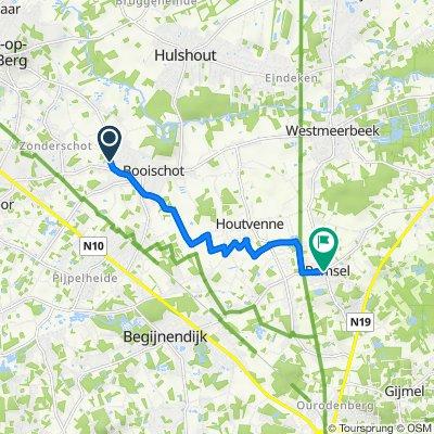 Heistseweg 7, Heist-op-den-Berg naar Stationsstraat 2–20, Herselt
