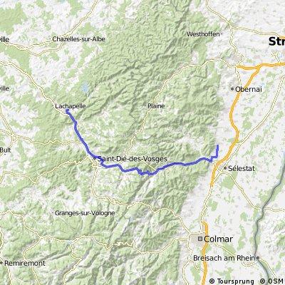 3a Selestat - Vosges - Raon- l'Etape
