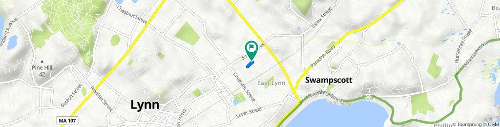 69 Timson St, Lynn to 69 Timson St, Lynn
