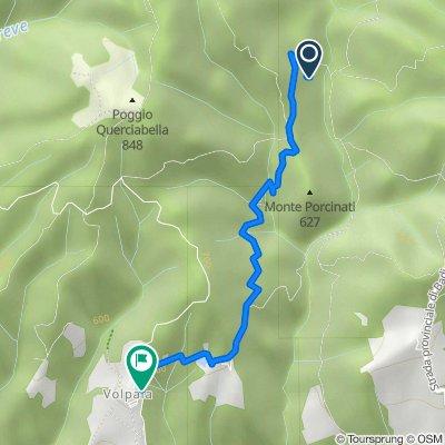 Moderate Route in Casole d'Elsa